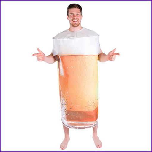 disfraz de cerveza