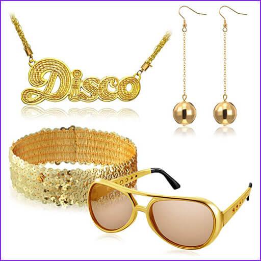 disfraces caseros disco
