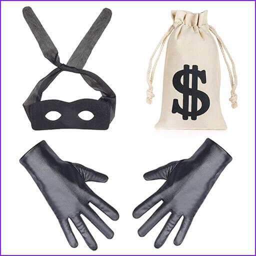 disfraces caseros ladron