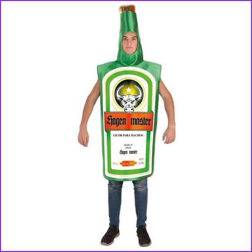 disfraz botella Jagen Master