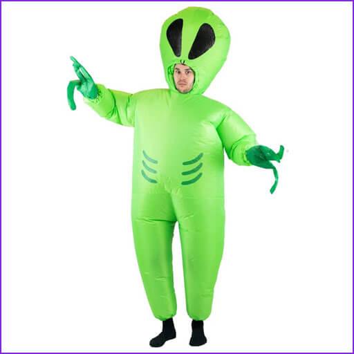 disfraz extraterrestre