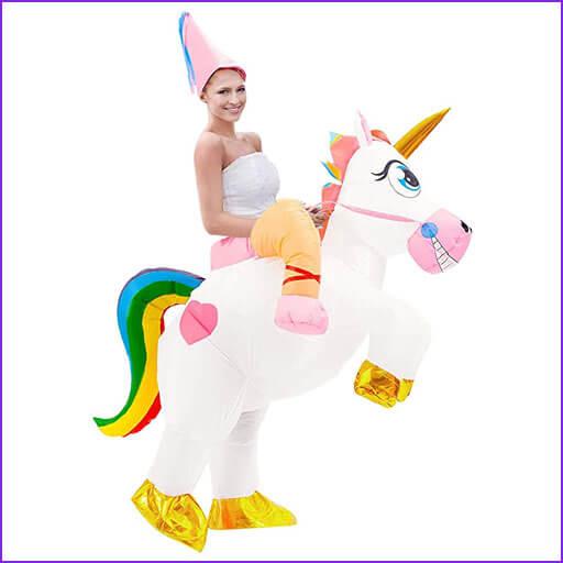 disfraz jinete unicornio