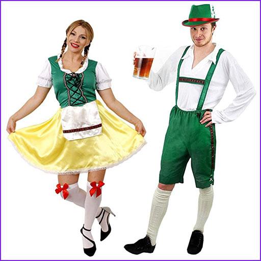 disfraz pareja bavaro
