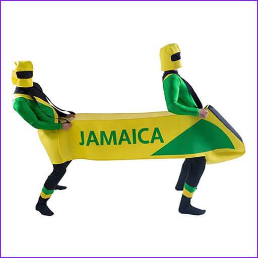 disfraz pareja bobsled