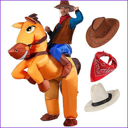 disfraz vaquero con caballo